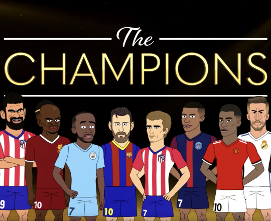 Bleacher Report - The Champions S2 - Series directed by Devon Clarke. Animated by Solis Animation.